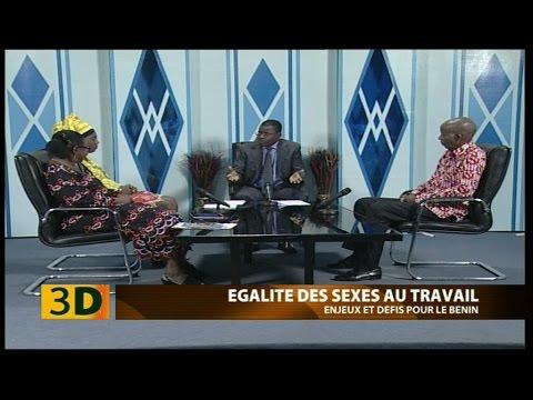 3D du 12 mars 2017: Egalité des sexes au travail, enjeux et défis pour le Bénin