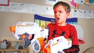 Nerf War:  Playtime