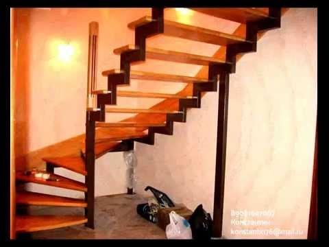 Лестницы видео своими руками