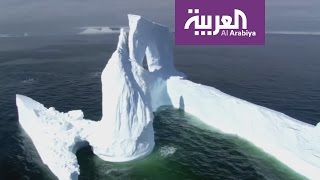 صباح العربية : شاهد كيف ستنقل الامارات جبلا جليديا الى سواحلها