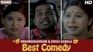 Brahmanandam & Kovai Sarala Best Comedy Scenes in Kshemanga Velli Labanga Randi Movie
