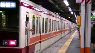 【区間急行 新栃木行き6050系】西新井到着・発車