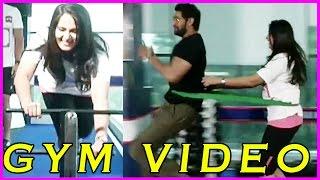 Rana & Anushka Shetty Gym Video Funny - Size Zero Movie Special Interview