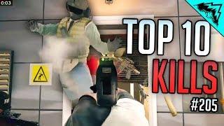 SIEGE RUSH - Top 10 Rainbow Six Siege Kills - WBCW #205 (Siege Top 10 Kills)