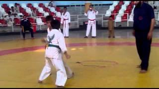 Pakistan shinkyokushin karate kpk mohammad zubair Peshawar fight (must watch)