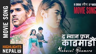 Aakasai Ghumera - New Nepali Movie THE MAN FROM KATHMANDU Song 2018   Jose Manuel   Anna Sharma