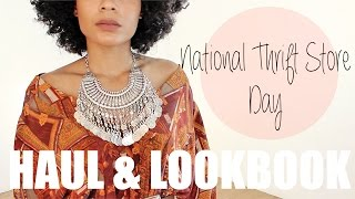 Thrift Store Lookbook + TIPS!