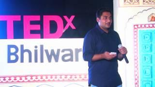 Hacking a Gap Year | Nirman Dave | TEDxBhilwara