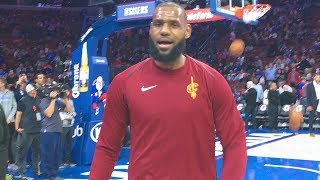LEBRON JAMES TALKED TO ME!! NOT CLICKBAIT