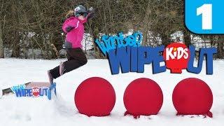 Winter Wipeout Kids - Episode 1