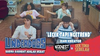 THE UNDERDOGS Lecek Tapi Ngetrend Music Video