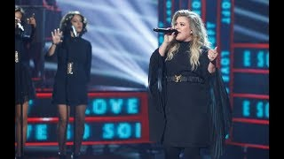 Kelly Clarkson Love So Soft Live On The Americas Got Talent Finale 2017