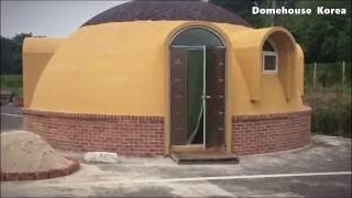 돔하우스코리아 - 회사 내 설치 된 기본형 돔하우스 어떻게 생겼을까요? (Domehouse Korea - How does it look  Domehouse 8000)