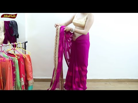 Xxx Mp4 Perfect Saree Drape To Look Like Bollywood Actress How To Wear Sari As A Bollywood Diva Video 3gp Sex