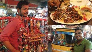 T Nagar & Ranganathan Local Street Shopping in Chennai Vlog #500