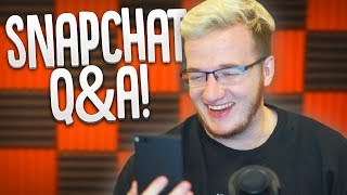 DEALING WITH BULLYS & YOUTUBE PSA! - Snapchat Q&A