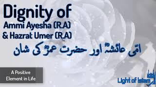 Dignity of Ammi Ayesha RA and Umar RA Maulana Tariq Jameel - Latest Bayan
