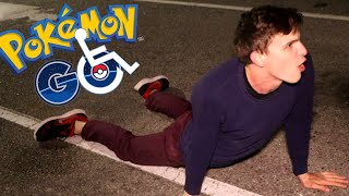 Disabled Pokemon Go #2 - Meowth + Goldeen