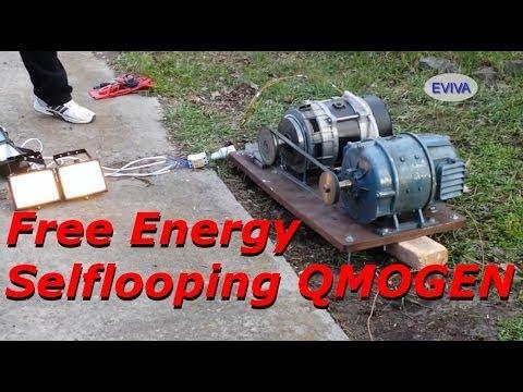 Free Energy Motor Generator QMOGEN 1KWATT EVIVA unit from Kiev Ukraine.
