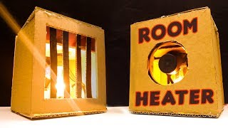 DIY Room Heater | How to Make a Portable Room Heater