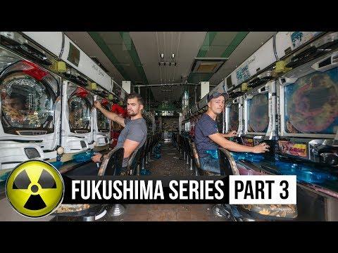 Fukushima abandoned A Pachinko Hall Found money&coins