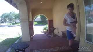 Download FedEx Mail Theft Suspect Caught on Tape 3Gp Mp4