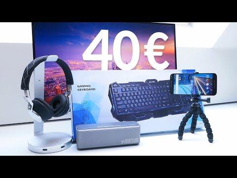TOP 5 Objets High-Tech Pas Chers à moins de 40€!