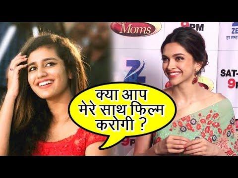 Xxx Mp4 Priya Prakash Varrier And Deepika Padukone Do A Film Together 3gp Sex