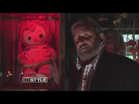 Xxx Mp4 Ryan Visits The Annabelle Doll At The Warren S Occult Museum 3gp Sex