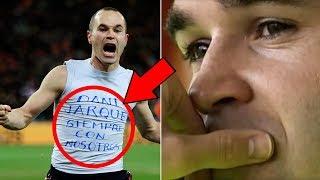 هل تعلم لماذا دائما تُصفق جماهير إسبانيول برشلونة للرسام أندريس إنييستا ؟
