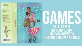 Jamie Grace - Games ft. AJ Rafael, Brittany Levox & More (Official Audio)