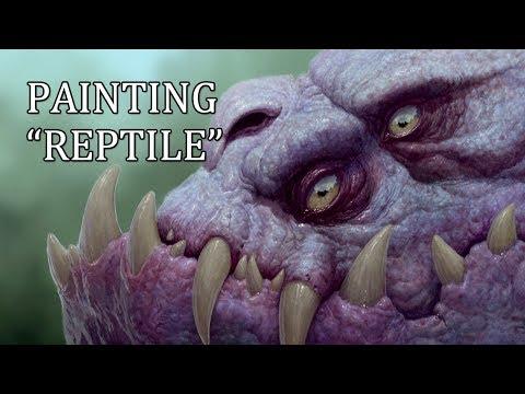 Speedpainting - Reptile