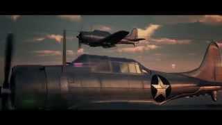 劇場版『艦隊これくしょん -マリアナ・レイテ沖海戦 』予告編  KanColle The Movie 1st Trailer