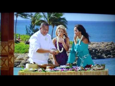 TV host flashes audience at Aulani resort