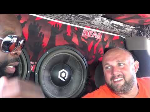 Scraping The Coast 2017 4 soundqued hdc4 15s & 4 soundqued 12s