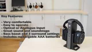 Sennheiser RS175 Wireless Headphones - Expert Review