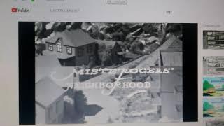 Funding Credits on Mister Rogers' Neighborhood (1969) NET logo (1967)