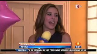 Paulina Goto fue sorprendida por la producción de Mi corazón es tuyo, quienes celebraron su cumpleañ