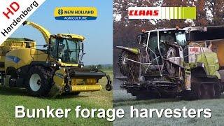 Bunker Forage Harvesters | Terra Trac | Field Shuttle | 2015 | The Netherlands.