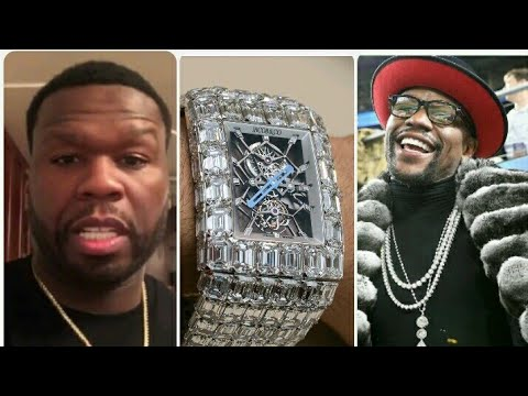 50cent Calls Floyd Mayweather a Dummy For Buying 18million Watch