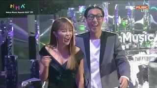 [MMA] 171202 Melon Music Awards + Interview + Behind - 洪真英(홍진영) full cut {韓語特效中字}