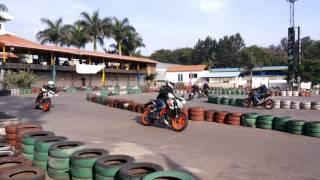 Orange Bulls are having fun at Apex Race track bangalore