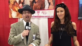 Shannon Elizabeth interview at Motor City Comic Con