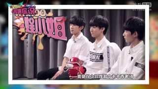 "【TFBOYS王源】搜狐視頻 WAKOO!娛小姐""開學季情感大拷問""-TFBOYS"
