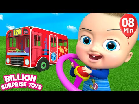 Xxx Mp4 HUGE BUS Toys Little Kids Songs Nursery Rhymes For Babies 3gp Sex
