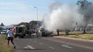 Fidelity cash heist in Pretoria North - NEW VIDEO RELEASED
