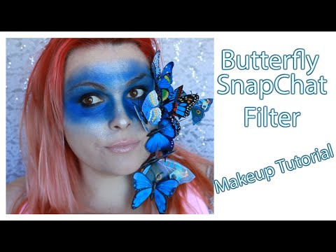 Butterfly SnapChat Filter Makeup Tutorial