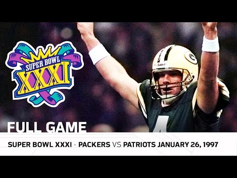 Xxx Mp4 Brett Favre S First Super Bowl Win Packers Vs Patriots Super Bowl XXXI NFL Full Game 3gp Sex
