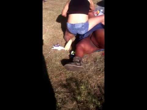 Hood fight on the 40 block big girl no panties on ass out