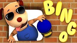 Bingo | Dog Song | Nursery Rhymes | Kids Songs